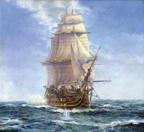 Sovereign of the Seas 1638