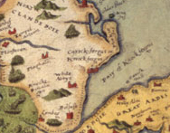 Detail from a map held at The National Archives