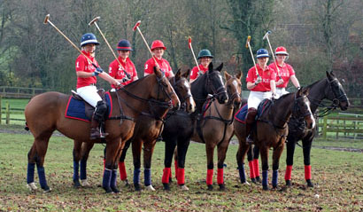 The Ladies Army Polo Team