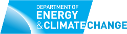 Logo of the Department of Energy and Climate Change (DECC)