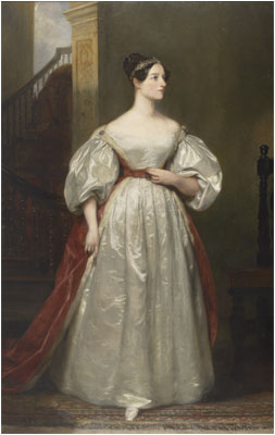 Ada, Countess of Lovelace (1815-1852) Mathematician; Daughter of Lord Byron