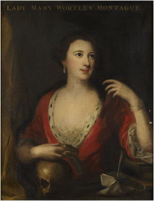 Lady Mary Wortley Montagu (1689-1762) writer and traveller