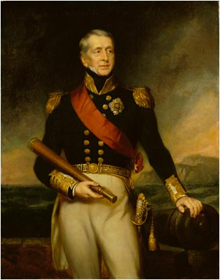 Sir George Cockburn, 8th Baronet (1772-1853) Admiral