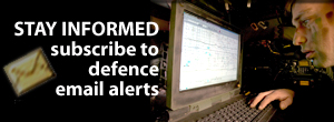 Subscribe to Defence e-mail updates