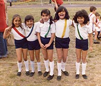 Sports Day, Eastcourt School in Ilford, Essex, 1980
