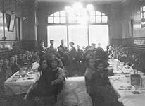 Inside the Jews' Temporary Shelter at Leman Street, Aldgate, in London's East End