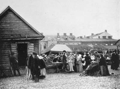 The Market, Dvinsk