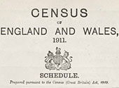 1911 census for England and Wales