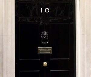 Number 10 door: PA copyright