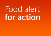 Food alert for action