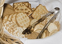 basket of crackers