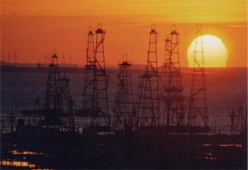 Oilfield in Kuwait