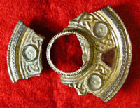 The Eastry Anglo-Saxon brooch which inspired the Portable Antiquities logo