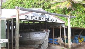 The Boatshed, Pitcairn Island