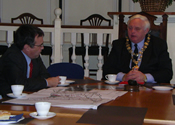 Phil Woolas and the Mayor of Hedon