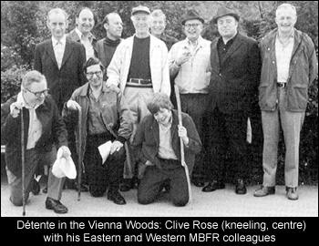 Détente in the Vienna Woods: Rose and colleagues