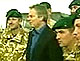 Tony Blair meets with British troops in Afghanistan, 20 November 2006