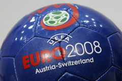 Official Euro 2008 football. © FABRICE COFFRINI/AFP/Getty Images