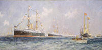 Queen Victoria's Diamond Jubilee Review at Spithead, 26 June 1897