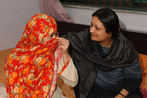 Helping the victim of a forced marriage