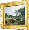 Boat-building near Flatford Mill, John Constable, 1815. Museum no. FA.37
