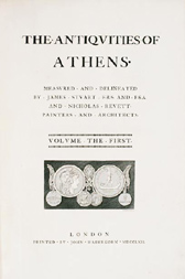 Antiquities of Athens, James Stuart and Nicholas Revett, 1762, Printed in London by John Haberkorn, Courtesy of the Library, © The Bard Graduate Center for Studies in the Decorative Arts, Design and Culture, New York