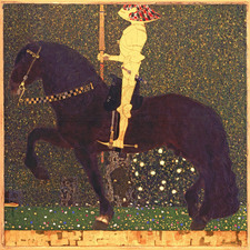 Gustav Klimt, The Golden Knight (Life is a Struggle), 1903