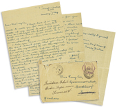 Letter to Mrs Smylie from Donald Graham, 7 August 1916, expressing his grief over the death of her husband and his closest friend
