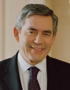 Official portrait of Prime Minister Gordon Brown (high resolution); Crown copyright