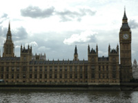 The Houses of Parliament; Crown copyright