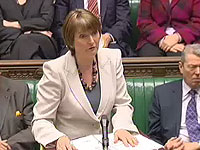 Harriet Harman at PMQs on 2 April 2008