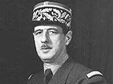 Charles de Gaulle rejected Britain's application to join the EEC