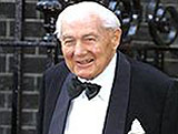 Jim Callaghan outside Downing Street in 2002