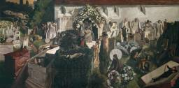 Stanley Spencer, The Resurrection, Cookham, 1924-7