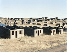 David Goldblatt . Stalled municipal housing scheme, Kwezinaledi, Lady Grey, Eastern Cape 5, August 2006