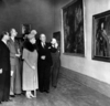Art Treasures from Vienna, Queen Mary visiting the exhibition, Tate Britain, 1949© Tate