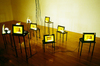 Susan Hiller, installation view, Tate Liverpool, 1996 © Tate