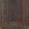 Fir Forest I, Gustav Klimt, 1901