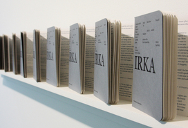 Flávia Müller Medeiros, Irka, 2007. Book of 36 pages in edition of 800