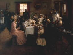 Stanhope Forbes, The Health of the Bride, 1889