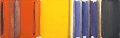 Patrick Heron, Scarlet, Lemon and Ultramarine: March 1957