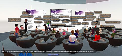 UKRC Second Life consultation event plenary