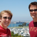 Me & Ed in San Diego with a whopping US LPH in the Background