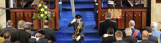 4626 (Aeromedical Evacuation) Squadron anniversary church service