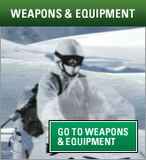 Weapons and equipment promo