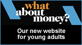 What about money - our new website for young adults