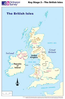 National Curriculum Mapping from Ordnance Survey