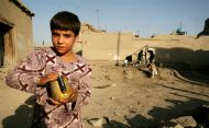An Afghan child