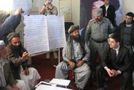 Foreign Secretary in Helmand, Crown Copyright