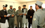 ANP literacy trainee salutes officials